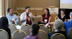 The ECS team presenting at CSIT 2012