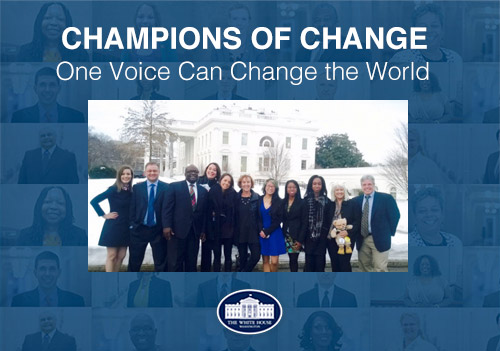 Champions of Change Award Recipients