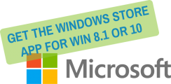 microsoft logo with feature text