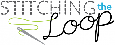 stitching the loop logo
