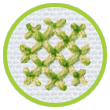 stitched waffle for icon