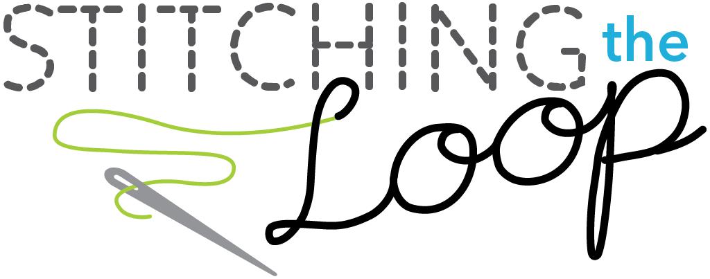 stitching the loop logo